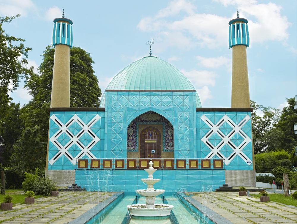 Außenansicht der Blauen Moschee